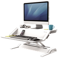 Fellowes SitStand Workstation Lotus Black