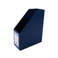Bantex Magazine File 401301 Extra Large Capacity Blue Each