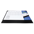 Bantex Desk Mat 418011 With Planner Black