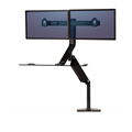 SitStand Workstation Extend Dual Black