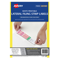 Avery Avery Lateral Filing Labels A4 4Sheet 959095