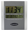 Carven Clock Cldigital Square Digital