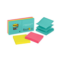 Notes PopUp R3306SSMIA 76 X 76Mm Super Sticky Miami Assorted