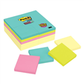 Notes 65424SSCYM 76 x 76mm Super Sticky Miami Assorted