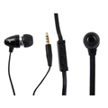 Earphone Shintaro Hands Free Phone Mono Headset with Microphone Flat Cable SHEARFVM