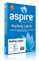 Aspire Labels LaserInkjet Aspire 1996 x 2891mm 1sheet PKT100
