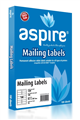 Aspire Labels LaserInkjet Aspire  Address 991 X 381Mm 14Sheet PKT100