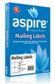 Aspire Labels LaserInkjet Aspire Parcel 991 x 1390mm 4sheet Pkt100