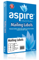 Aspire Labels LaserInkjet Aspire  Parcel 991 X 677Mm 8Sheet PKT100