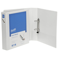 Bantex Insert Binder A4 2 DRing 65Mm Blue 65Mm 2736201