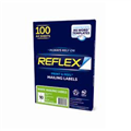 141083 Reflex  Laser Labels  9906 X57Mm 10Up  X100 182758