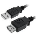 40USB2Amf3 Silver 3M USB Extension Cable AA MF