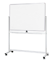 Visionchart Whiteboard Mobile Pivoting 30511850 1500 x 900mm
